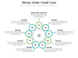 Money Order Credit Card Ppt Powerpoint Presentation File Vector Cpb