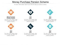 Money Purchase Pension Scheme Ppt Powerpoint Presentation Portfolio Show Cpb