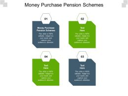 Money Purchase Pension Schemes Ppt Powerpoint Presentation Styles Background Designs Cpb