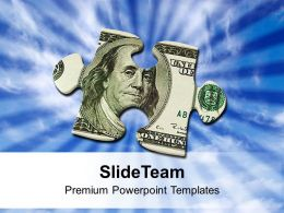 money_puzzle_piece_finance_dollar_hundred_powerpoint_templates_ppt_themes_and_graphics_0213_Slide01