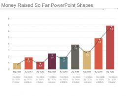 money_raised_so_far_powerpoint_shapes_Slide01