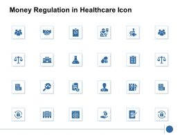 Money Regulation In Healthcare Icon Target K207 Ppt Powerpoint Presentation Ideas Show