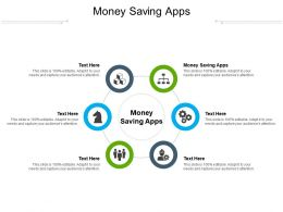 Money Saving Apps Ppt Powerpoint Presentation Infographics Inspiration Cpb