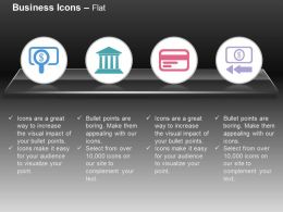Money Search Banking Data Storage Financial Flow Ppt Icons Graphics