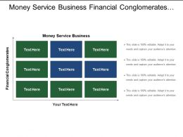 Money Service Business Financial Conglomerates Specialist Risk Unit