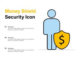Money Shield Security Icon