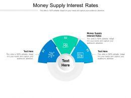 Money Supply Interest Rates Ppt Powerpoint Presentation Slides Microsoft Cpb