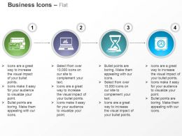 money_wallet_laptop_time_management_locker_ppt_icons_graphics_Slide01