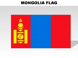 Mongolia Country Powerpoint Flags
