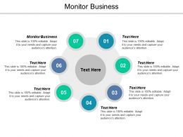 Monitor Business Ppt Powerpoint Presentation Icon Graphics Example Cpb