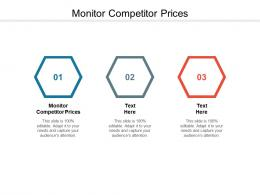 Monitor Competitor Prices Ppt Powerpoint Presentation Ideas Show Cpb
