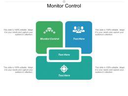 Monitor Control Ppt Powerpoint Presentation Portfolio Icon Cpb