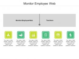 Monitor Employee Web Ppt Powerpoint Presentation Gallery Themes Cpb