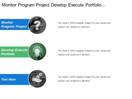 Monitor Program Project Develop Execute Portfolio Communication Report