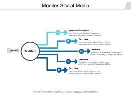 Monitor Social Media Ppt Powerpoint Presentation Slides Designs Download Cpb