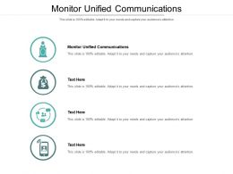 Monitor Unified Communications Ppt Powerpoint Presentation Styles Example Introduction Cpb