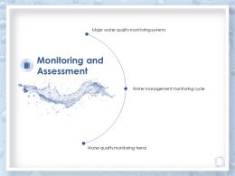Monitoring And Assessment Management Trend Ppt Powerpoint Presentation Topics