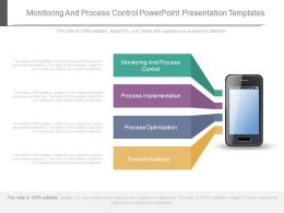 Monitoring And Process Control Powerpoint Presentation Templates