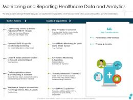 Monitoring And Reporting Healthcare Data And Analytics Vendors Ppt Professional