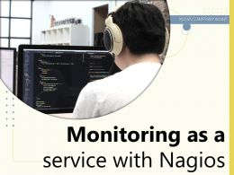 Monitoring As A Service With Nagios Powerpoint Presentation Slides