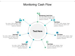 Monitoring Cash Flow Ppt Powerpoint Presentation Infographic Template Structure Cpb