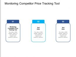 Monitoring Competitor Price Tracking Tool Ppt Powerpoint Presentation Styles Design Templates Cpb