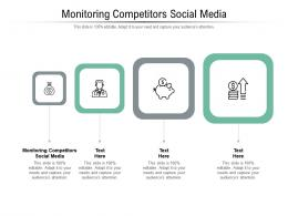 Monitoring Competitors Social Media Ppt Powerpoint Presentation Summary Cpb