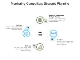 Monitoring Competitors Strategic Planning Ppt Powerpoint Presentation Slides Cpb