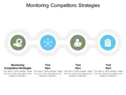 Monitoring Competitors Strategies Ppt Powerpoint Presentation Outline Cpb