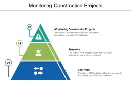 Monitoring Construction Projects Ppt Powerpoint Presentation Ideas Information Cpb