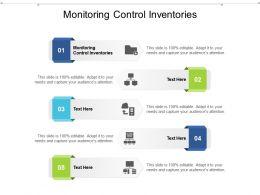 Monitoring Control Inventories Ppt Powerpoint Presentation Portfolio Example Cpb