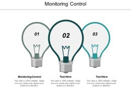 Monitoring Control Ppt Powerpoint Presentation Outline Sample Cpb
