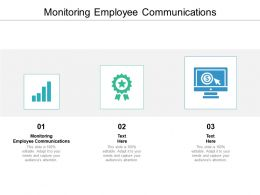Monitoring Employee Communications Ppt Powerpoint Presentation Inspiration Layout Cpb