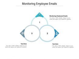 Monitoring Employee Emails Ppt Powerpoint Presentation Ideas File Formats Cpb