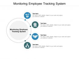 Monitoring Employee Tracking System Ppt Powerpoint Presentation Infographics Slide Portrait Cpb