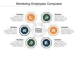 Monitoring Employees Computers Ppt Powerpoint Presentation Gallery Background Image Cpb
