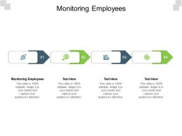 Monitoring Employees Ppt Powerpoint Presentation Gallery Shapes Cpb