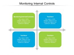 Monitoring Internal Controls Ppt Powerpoint Presentation Portfolio Mockup Cpb