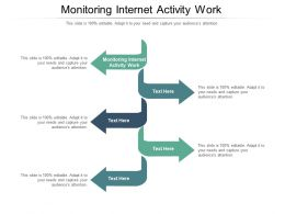 Monitoring Internet Activity Work Ppt Powerpoint Presentation Slides Icons Cpb