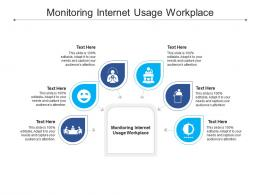 Monitoring Internet Usage Workplace Ppt Powerpoint Presentation Layouts Good Cpb
