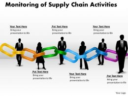 Monitoring of Supply Chain Activities 6
