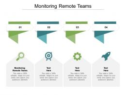 Monitoring Remote Teams Ppt Powerpoint Presentation Inspiration Files Cpb
