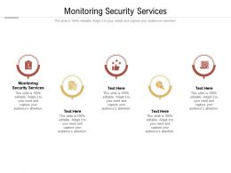 Monitoring Security Services Ppt Powerpoint Presentation Summary Slide Portrait Cpb