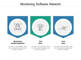 Monitoring Software Network Ppt Powerpoint Presentation Inspiration Cpb
