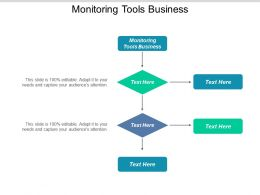 Monitoring Tools Business Ppt Powerpoint Presentation Summary Backgrounds Cpb