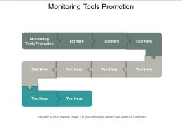 Monitoring Tools Promotion Ppt Powerpoint Presentation Outline Smartart Cpb