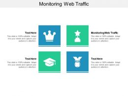 Monitoring Web Traffic Ppt Powerpoint Presentation Styles Guidelines Cpb