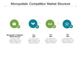 Monopolistic Competition Market Structure Ppt Powerpoint Themes Cpb