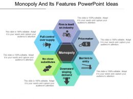 Monopoly And Its Features Powerpoint Ideas