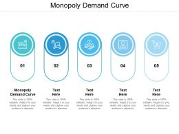 Monopoly Demand Curve Ppt Powerpoint Presentation Gallery Images Cpb